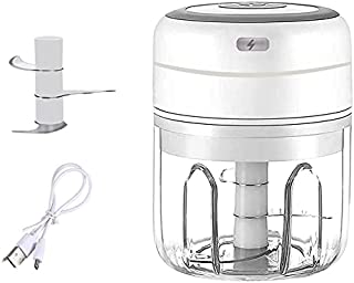 Beauenty Wireless Electric Mini Garlic Chopper, Beauenty Powerful Garlic Press Food Chopper, Portable Small Food Processor...