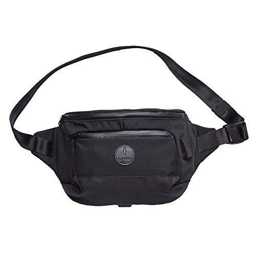ALPAKA Bravo X Sling - Die Ultimative Diebstahlsicherung - Cut Proof & Fireproof & Waterproof Anti-Theft Bag mit Externem USB-Anschluss (Jet Black)