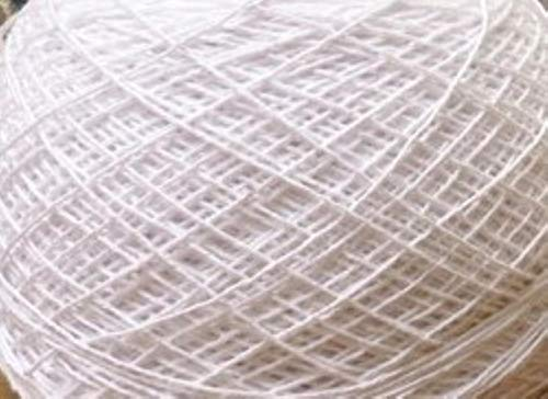 QINHU Plato 10pcs / Lot del cojín de Ganchillo Flor Blanca amarillenta del óvalo Europea Mantel de Mesa Superior Decorativa Hook Rug 25 * 35cm,Blanco
