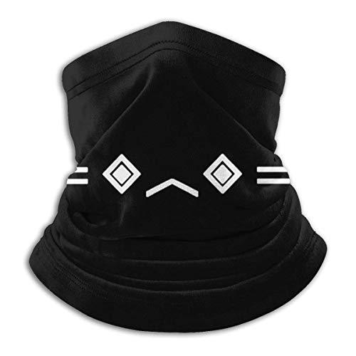 WlQshop Tour de Cou Warmer Windproof Mask Fleece Headwear Porter Robinson for Winter Men Women Walking Skiing Motorcycling