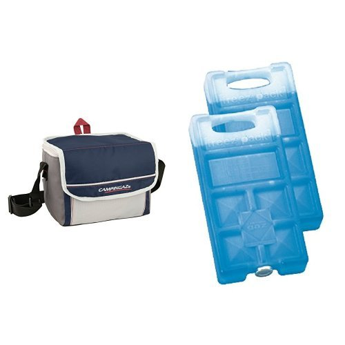 Campingaz Kühltasche Fold N Cool 5 Liter & Campingaz Freezepack 2er Pack