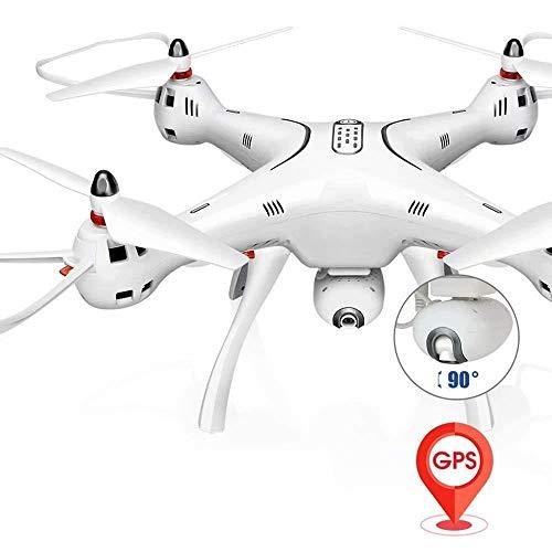 KK Rc Quadcopter X8Pro GPS 2.4 Ghz 4-Achsen-Gyro-Fernbedienung Mit Hd-Kamera Höhenstand Und Headless-Modus-Funktion Hubschrauber Für Anfänger,A,20 Minuten