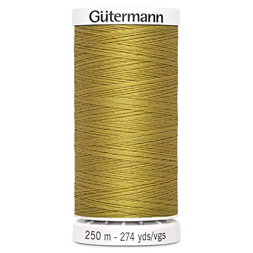 Gutermann Sew all Filo di Poliestere, 250Metri, Jeans Oro (0968),