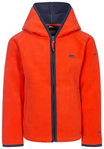 Trespass Mast Warm Fleece Blouson Enfant, Flamme, Size 3/4