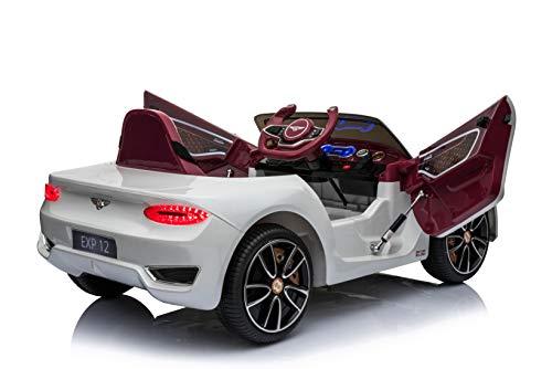 RC Auto kaufen Kinderauto Bild 3: Toyas Lizenz Bentley Kinder Elektrofahrzeug Kinderfahrzeug Kinderauto Elektroauto 2X 30W Motor Weiß*