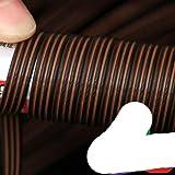 500g caffè gradiente piatto sintetico rattan tessitura materiale plastica rattan per maglia e riparazione sedia tavolo sintetico rattan