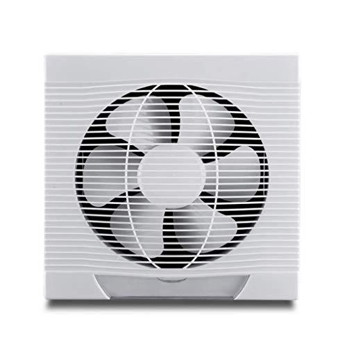 LANDUA Extintor, Ventilador de ventilación, la casilla Blanca de Montaje en Pared Extintor, Inicio Potente Ventilador de ventilación