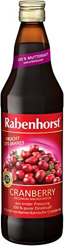 Rabenhorst Cranberry Muttersaft, 3er Pack (3 x 0.7 l)