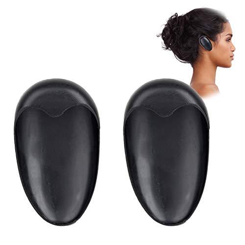 Couvre-oreille, 5 paires de teinture de coiffure imperméable à colorier Colorant noir Couvre-oreille Bouclier Protecteur Protège-oreilles Bouchons d'oreille Coiffure Kit de coiffure pour Kit de Bain D