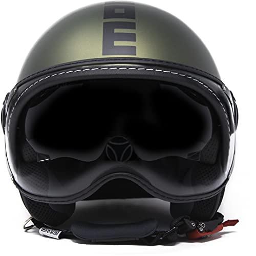 Momo Evo - Casco militar verde met/negro, talla M
