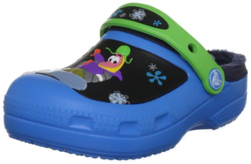 Crocs Creative Spongebob Goes Snowboarding Lined Clog, Zuecos, Azul-Bleu (Ocean/Navy), 23/24 EU