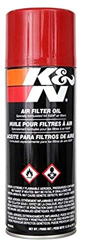 K&N Air Filter Oil: 12.25 Oz Aerosol; Restore Engine Air Filter Performance and Efficiency, 99-0516