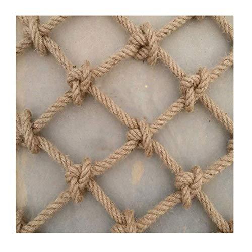 XCYYBB Climbing Netting, Hemp Net, Child Safety Net, Anti-fall Stair Nets, balcony net, Ceiling Decorative Nets, Hammocks, Diameter 10mm, Mesh 10cm