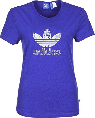 Adidas Slim W T-Shirt 34 bold blue