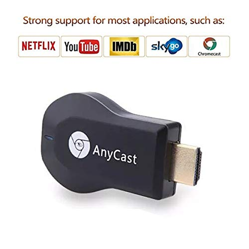 Wireless HDMI Screen Mirror Dongle, Saiwill WiFi Display TV Dongle Receiver 1080P Easy Sharing Wireless Streaming TV Stick for iOS/Android/Mac Devices to HDTV