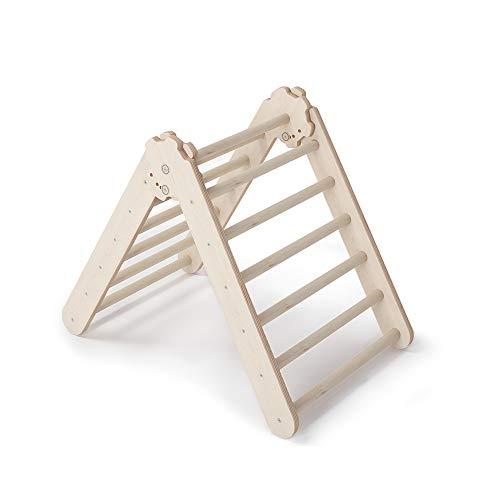 MAMOI Triangle Gym Dreieck v.2 für Kinder Modernes | Klettergerüst Indoor Kinder minimalistisches Design | Nachhaltig Kletterdreieck für Kleinkinder aus Holz | 100{d5202f52865ef07878d8ef46b1692161aec3fd1b51e4bff47e9e3eee1a500278} ECO | Made in EU