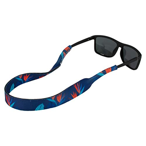 Ukes Premium Sunglass Strap - Durable & Soft Eyewear Retainer Designed with Floating Neoprene Material - Secure fit for Your Glasses and Eyewear. (The Paradises)