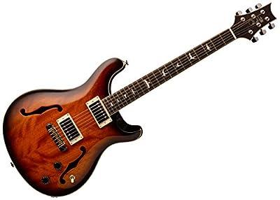 PRS SE Hollowbody Standard Semi-Hollow Body Electric Guitar (McCarty Tobacco Sunburst)