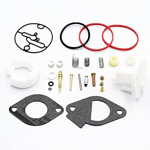 Carburetor Repair Rebuild Kits for Briggs Stratton Master Overhaul Nikki CarbsReplaces 796184 698787 699900 699521 792369 790032 Craftsman 11HP - 19HP Engines