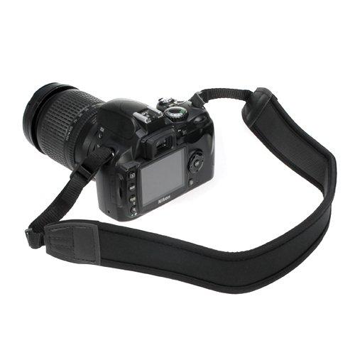 BIRUGEAR Tracolla di Neoprene per Fotocamera DSLR - Blu