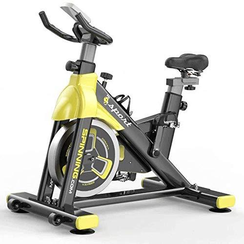 Pedales bicicleta estatica Bicicletas estáticas, bicicletas de spinning, culturismo Bicicletas Inicio de ejercicio, Indoor ultra silencioso hombres y mujeres bicicletas de pedales, Deportes Fitness Eq