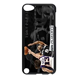 Hot Design Tony Parker Custom Case Design Perfect Appearance for ipod 5 phone case AB667975