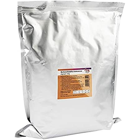 Alginate de Moulage Rapide, 2 kg, Poudre