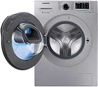 Samsung 8 Kg Wash & 6Kg Dry, Washer Dryer, Silver - WD80K5410OS, 1 Year Warranty