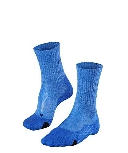 FALKE TK2 Wool Chaussettes Femme, Blue Note, 39-40