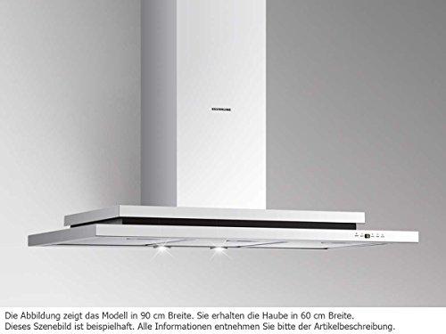 Silverline Trio Deluxe TRW 685.3 E Wand Dunstabzugshaube Edelstahl 60 cm