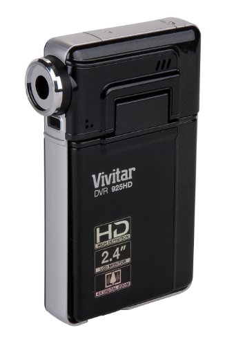 Vivitar 12.1 MP HD Digital Camera with 2.4 TFT (DVR925HD-BLK-BX-PR),Black