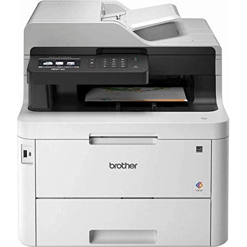 Brother MFC-L3770CDW Color All-in-One Laser Printer with Wireless, Duplex Printing and Scanning (Renewed)
