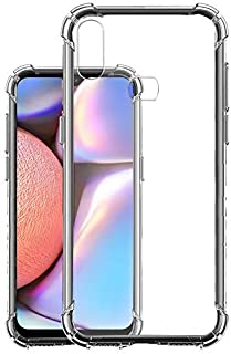 Soft Flexible Shockproof Bumper Transparent Back Case Cover for Samsung Galaxy A10s by Nice.Store.UAE