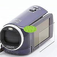 3枚 VacFun フィルム , パナソニック Panasonic HC-V300M 向けの 保護フィルム 液晶保護 フィルム 保護フィルム(非 ガラスフィルム 強化ガラス ガラス ) ニュー