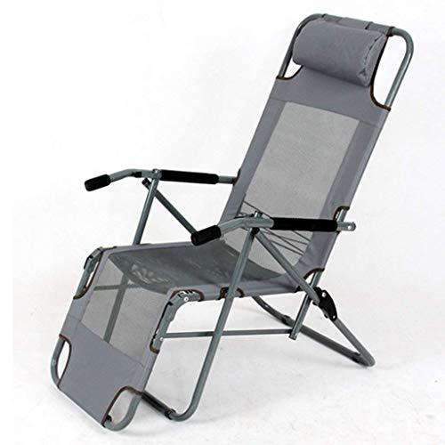 Gartenstühle Klappbare Liege Chaise Travel Tragbarer Camping-Sitz Chaise Lounge Chair im Freien