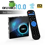 TUREWELL T95 Android 10.0 TV Box, Allwinner H616 Quadcore 2 GB RAM 16