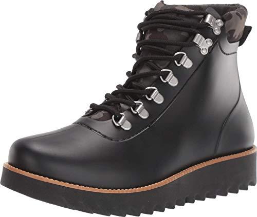 Bernardo Winnie Rain Boot Black Rubber Camo 9