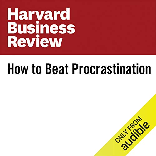 How to Beat Procrastination audiobook cover art