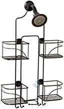 Zenna Home Expandable Over-The-Shower Caddy, Bronze