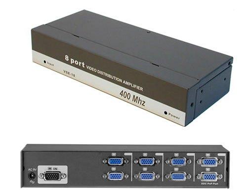 ConnectPRO VSE-18 8-Port Video Distribution Amplifier / Splitter