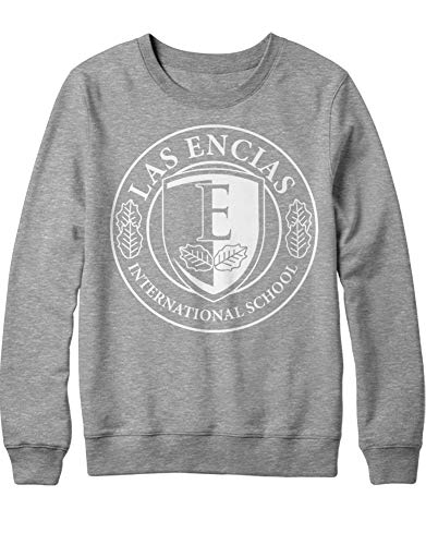 HYPSHRT Hombre Sweatshirt Élite Las Encias C001043 Gris S
