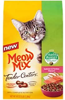 Meow Mix J.M Smucker Company-Big Heart 799511 6/3 Tender Center with Vitality Burst