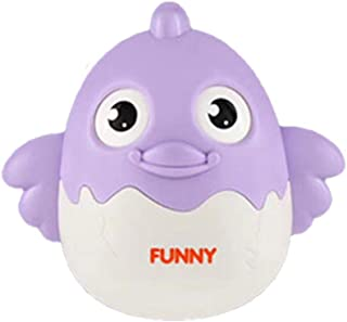 NUOBESTY Kid Blink Tumbler Toy Cute Wink Blink Tumbler Duck Toy Baby Educational Plaything (Purple)