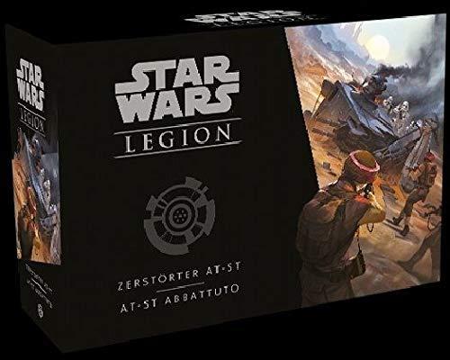 Asmodee Fantasy Flight Games FFGD4630 SW: Legion - Zerstörter AT-ST - Erweiterung, Experten-Spiel, Deutsch