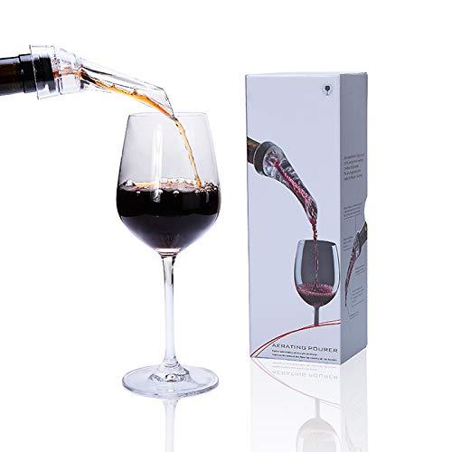 Les Plaisirs du Chef - Aeratore per vino - Beccuccio versatore - Wine pourer and aerator