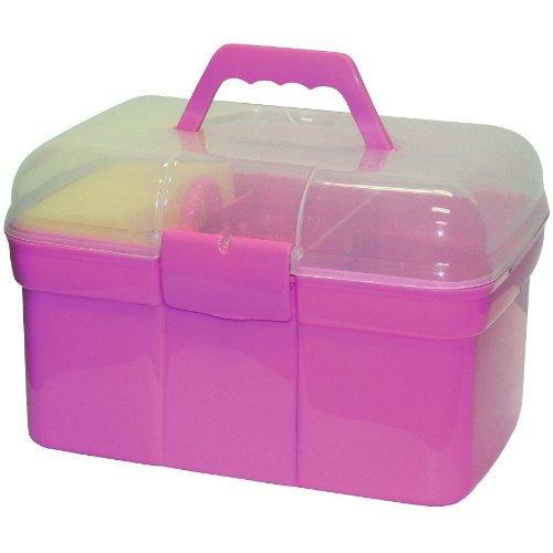 Kinder Putzbox mit 6 – teiligem Inhalt rosa - 2