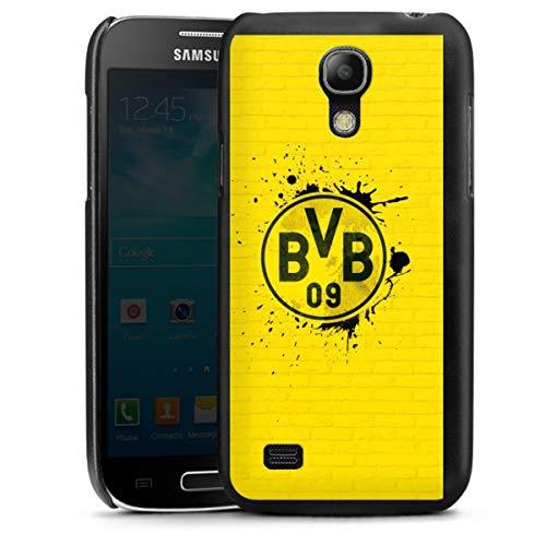 DeinDesign Hard Case kompatibel mit Samsung Galaxy S4 Mini Schutzhülle schwarz Smartphone Backcover BVB Borussia Dortmund Offizielles Lizenzprodukt