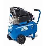 ABAC 1129100048 - Compresor de piston coaxial lubricado serie pro, MONTECARLO L25P Monofásico de 10 bares de presión.