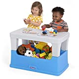 Simplay3 Play Around Storage Table - Multipurpose 2-in-1 Removable Play Table and Toy Box for Toddlers, Building, Crafts