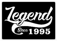 伝説1995年以来ティンサイン壁鉄絵レトロプラークヴィンテージ金属板装飾ポスターおかしいポスター吊り工芸品バーガレージカフェホーム